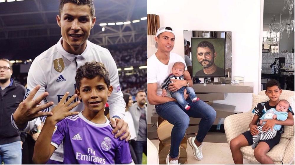 Cristiano Ronaldo de 4 ori tătic! Fotbalistul are încă o fetiță