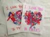 Pregătiri pentru Sfantul Valentin! Inimioare din hârtie