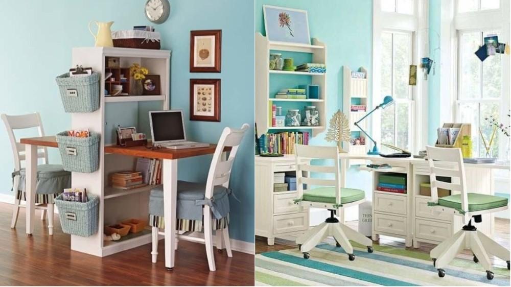Cum amenajezi biroul pentru doi copii? Idei pentru locul de studiu