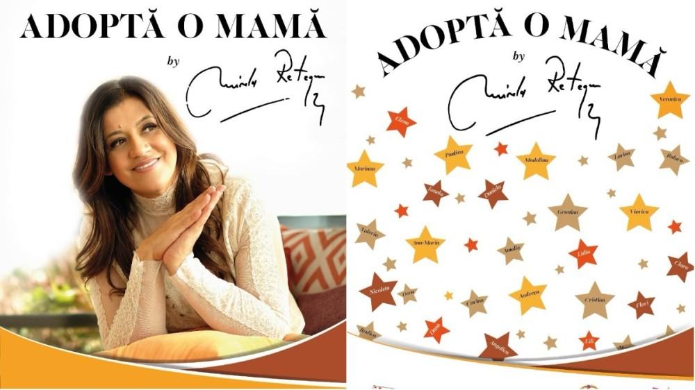 """""""Adoptă o mamă"""", campania Mirelei Retegan, a mobilizat mii de femei din România și Republica Moldova"""