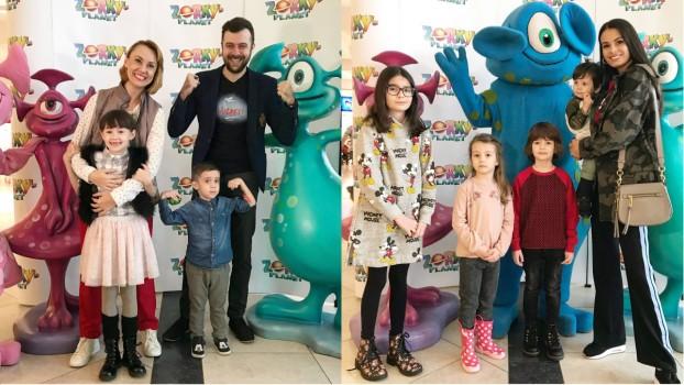 Cum au petrecut vedetele de 1 aprilie alături de copiii lor