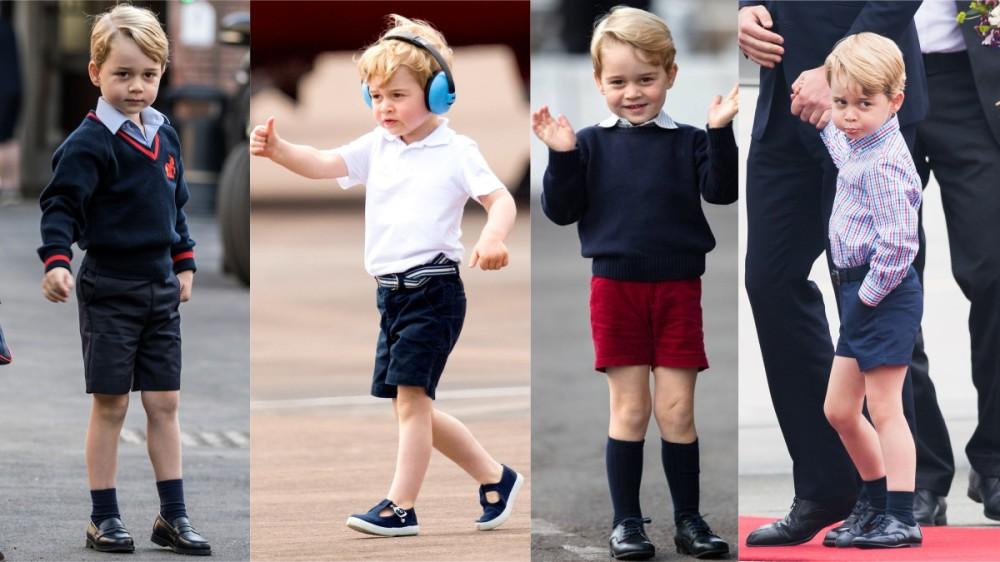 Garderoba regală: De ce Prințul George poartă întotdeauna pantaloni scurți