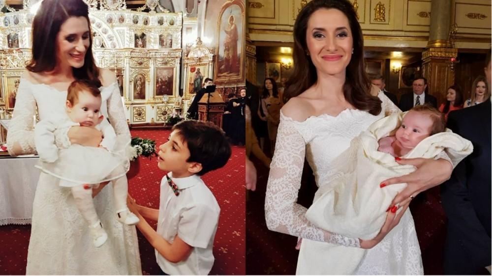 Iuliana Tudor, nașă de botez! Câți fini are vedeta?