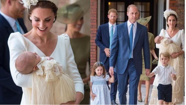 Prinţul Louis a fost botezat. De ce a lipsit Regina Elisabeta a II-a de la ceremonie?
