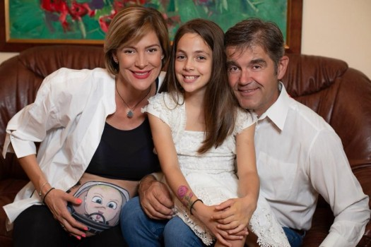 Roxana Ciuhulescu a născut un băiețel chiar de ziua soțului ei!
