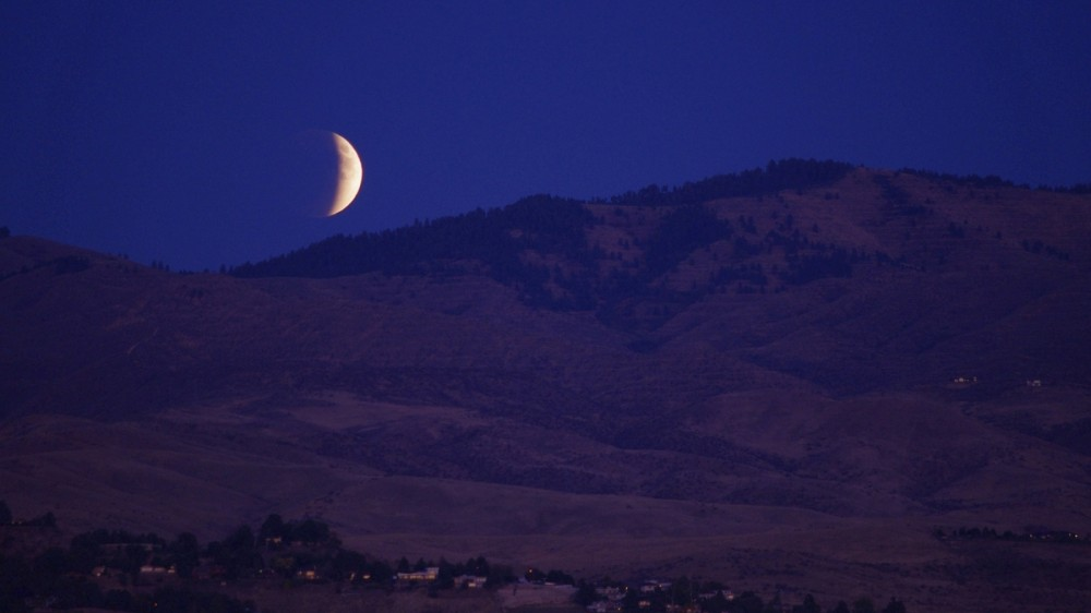 Eclipsa de Lună din 27 iulie 2018 va putea fi văzută în totalitate din România
