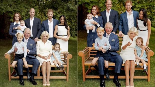 Ședința foto a aniversării de 70 de ani a Prințului Charles, sabotată de un bebeluș de 6 luni