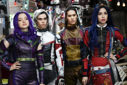 DESCENDENȚII se întorc la Disney Channel